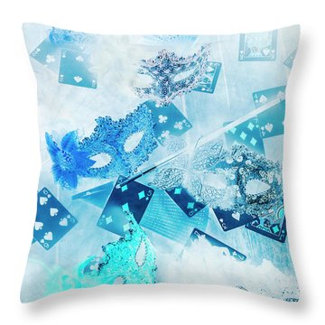 The Illusion Gala Throw Pillow