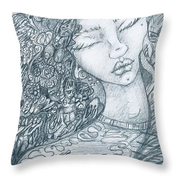 The Immigrant Heart Throw Pillow