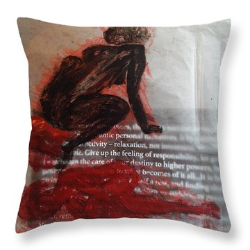 The Immolation Throw Pillow