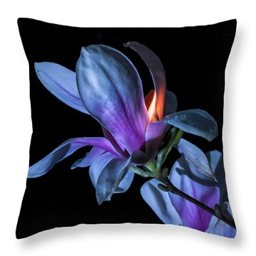 The Inner Mounting Flame Throw Pillow