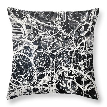 The Inner Workings Of The Womans Mind Throw Pillow