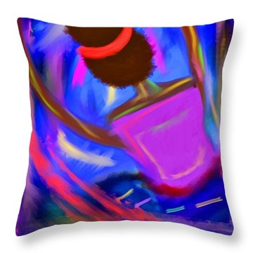 The Intercessor Throw Pillow