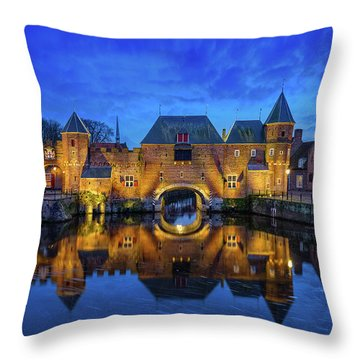 The Koppelpoort Amersfoort Throw Pillow