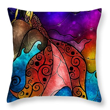 The Little Mermaid Throw Pillow