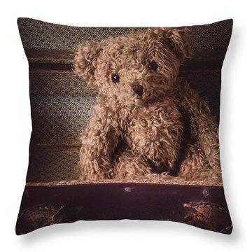 The Little Vagabond Throw Pillow