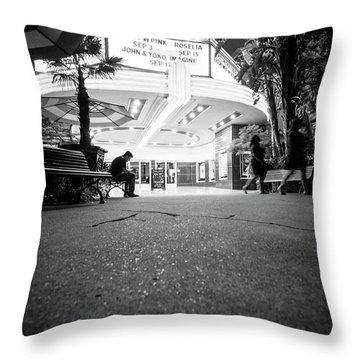 The Loner- Throw Pillow