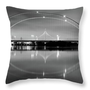 The Margaret Mcdermott Bridge Throw Pillow