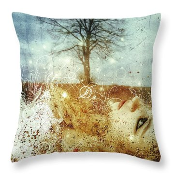 The May Song Throw Pillow