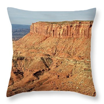 The Mesa Throw Pillow