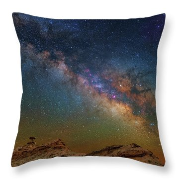The Mexican Way Throw Pillow