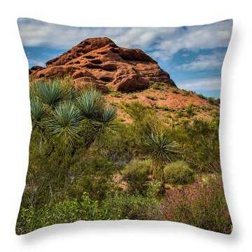 The Mighty Papago Throw Pillow