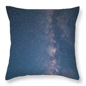 The Milky Way In Arizona Throw Pillow