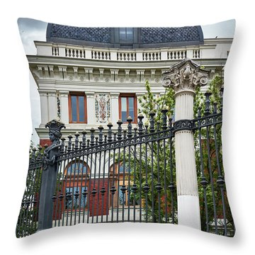 The Ministry Of Agriculture, Fisheries, Food And Environment In Madrid Throw Pillow
