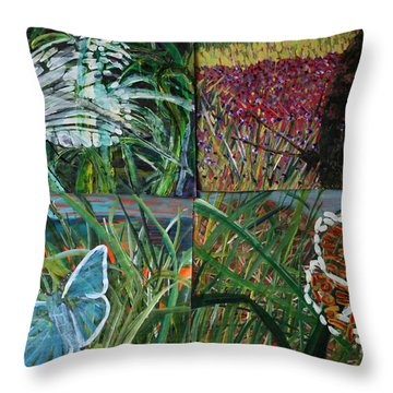 The Missing Piece Throw Pillow