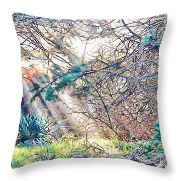 The Moment Of Magic Throw Pillow