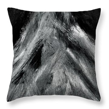 The Mountain Of The Swasi People Throw Pillow