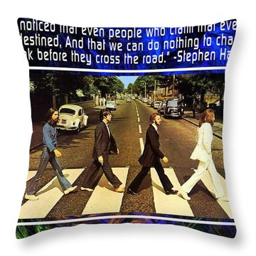 The Mystic Circle Inspirational Series One One Throw Pillow