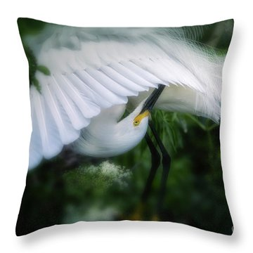 The Nature Of Beauty Throw Pillow