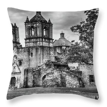 The Old Mission Throw Pillow