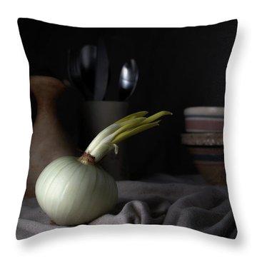The Onion Throw Pillow