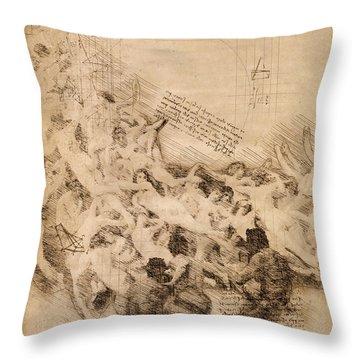 The Oreads Throw Pillow
