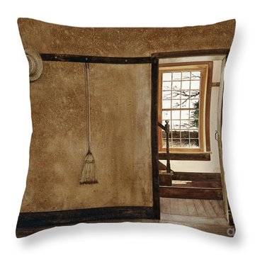 The Outer Hall Throw Pillow