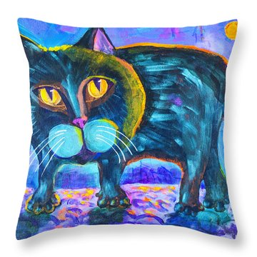 The Owner Of The Night 11x14 Throw Pillow