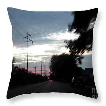 The Passenger 02 Throw Pillow