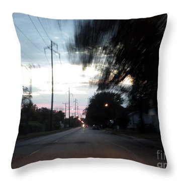 The Passenger 03 Throw Pillow