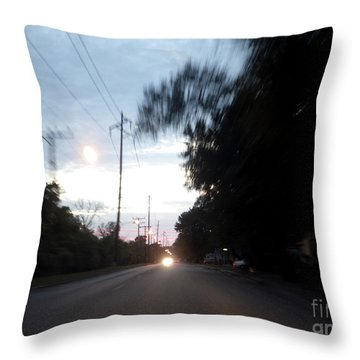 The Passenger 04 Throw Pillow