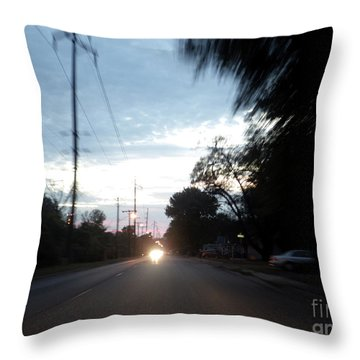 The Passenger 05 Throw Pillow