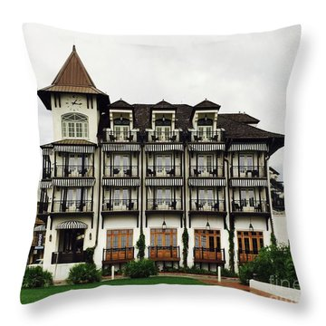The Pearl In Rosemary Throw Pillow