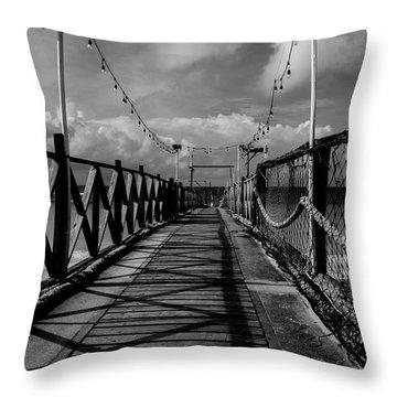 The Pier #2 Throw Pillow