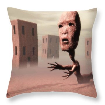 The Politician And I Throw Pillow