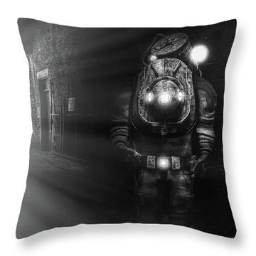 Greenhouse Gas Throw Pillows