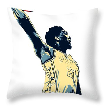 The Process  Throw Pillow