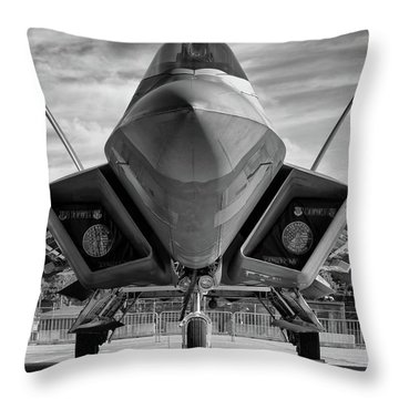 The Raptor Waits Throw Pillow