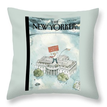 The Real Emergency Throw Pillow