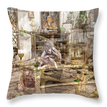 The Reality Question Throw Pillow