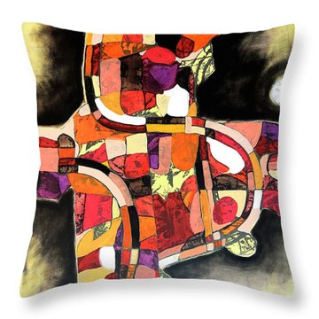 The Reeping Throw Pillow