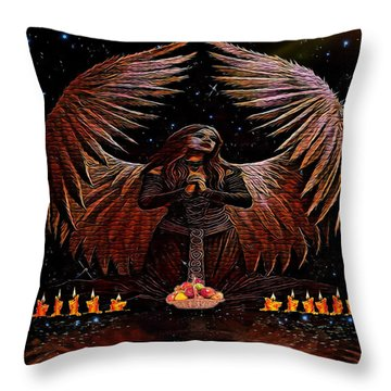 The Request Throw Pillow