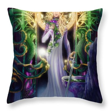 The Return Of Ithwenor Throw Pillow