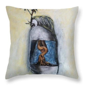 The Root Of Stranger Things Throw Pillow