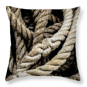 The Rope Throw Pillow