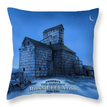 The Ross Elevator Version 3 Throw Pillow
