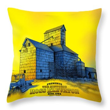 The Ross Elevator Version 4 Throw Pillow