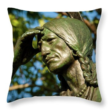 The Scout Detail Throw Pillow