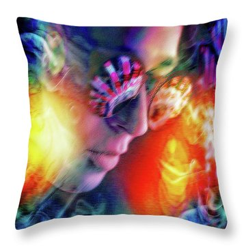 The Secret Inside  Throw Pillow