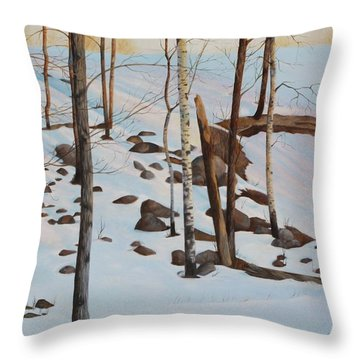 The Sentinels Throw Pillow