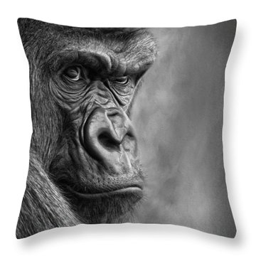 The Serious One Throw Pillow